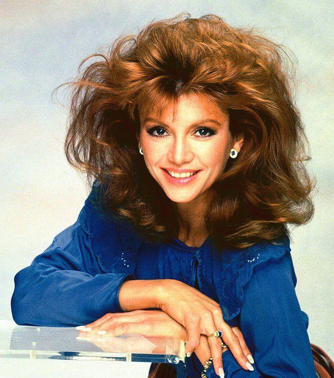 Victoria Principal 1980s Hair Vintage Hairstyles