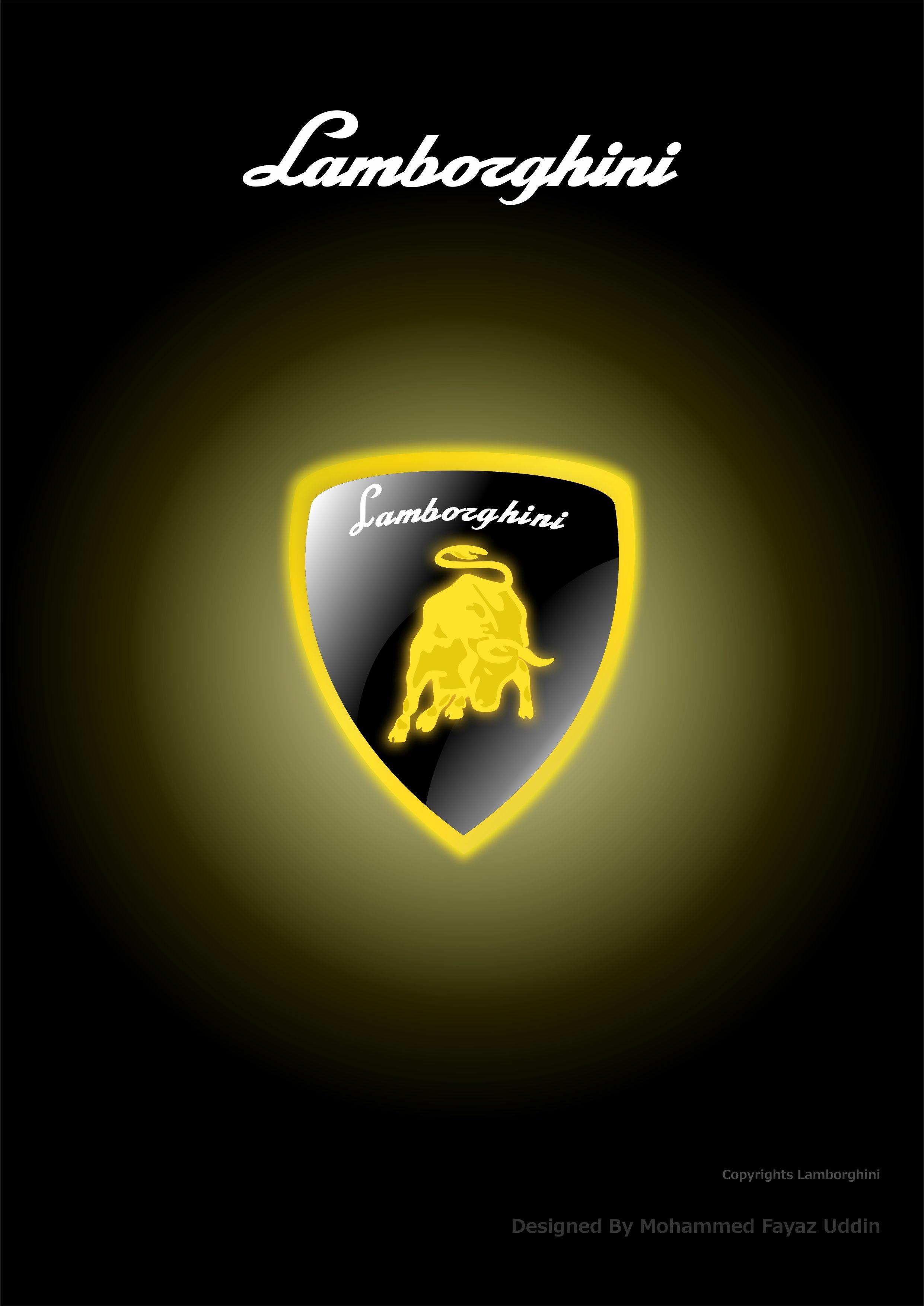 Lamborghini Logo Hd Wallpaper For Iphone Samsung Nokia Mi