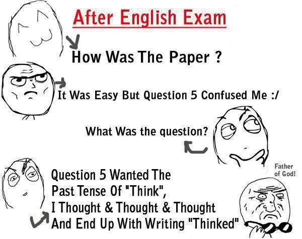 English Exam Exam Quotes Funny Exams Funny Teacher Quotes Funny