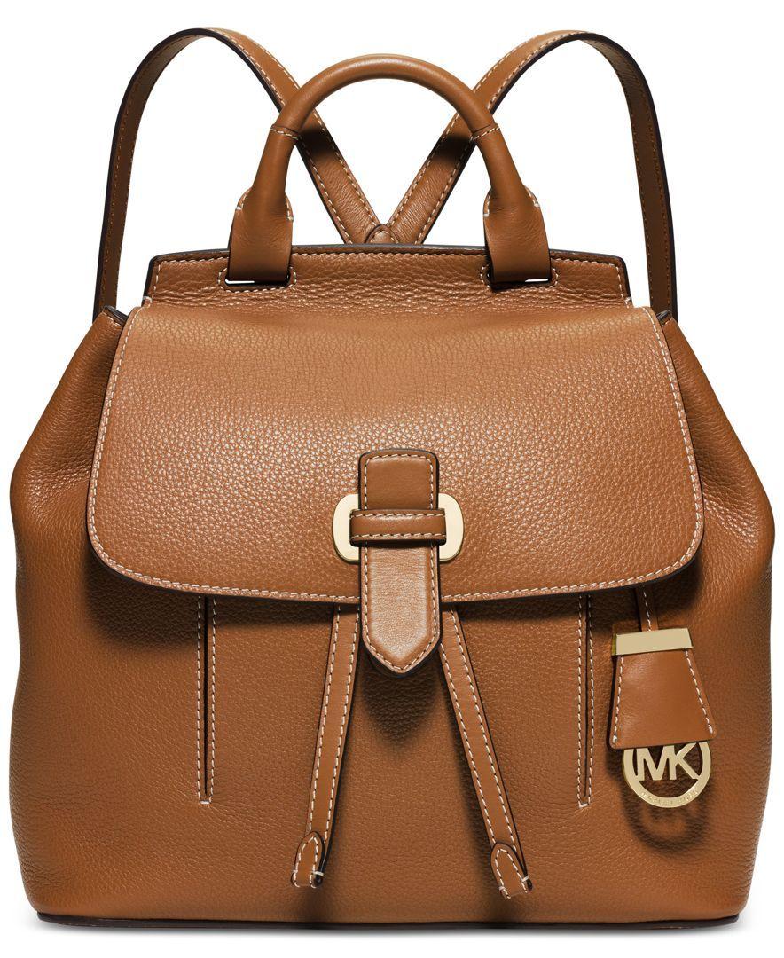 3bf135536309 ... MICHAEL Michael Kors Romy Medium Backpack - Handbags Accessories -  Macys ...