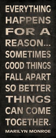 Everything Happens for a reason... | Click here for some awesome image-quote prints!