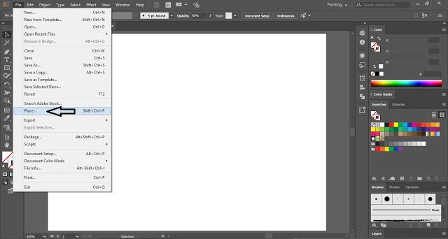 How To Create Photo Frame Effect In Adobe Illustrator