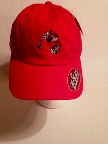 981b23dda Disney-Mickey-Mouse-Golfer-Ahead-extreme-fit-hat-Red-New-NWT ...
