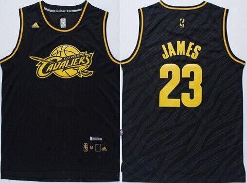 buy popular a2371 fa97e Cleveland Cavaliers #23 LeBron James Revolution 30 Swingman ...