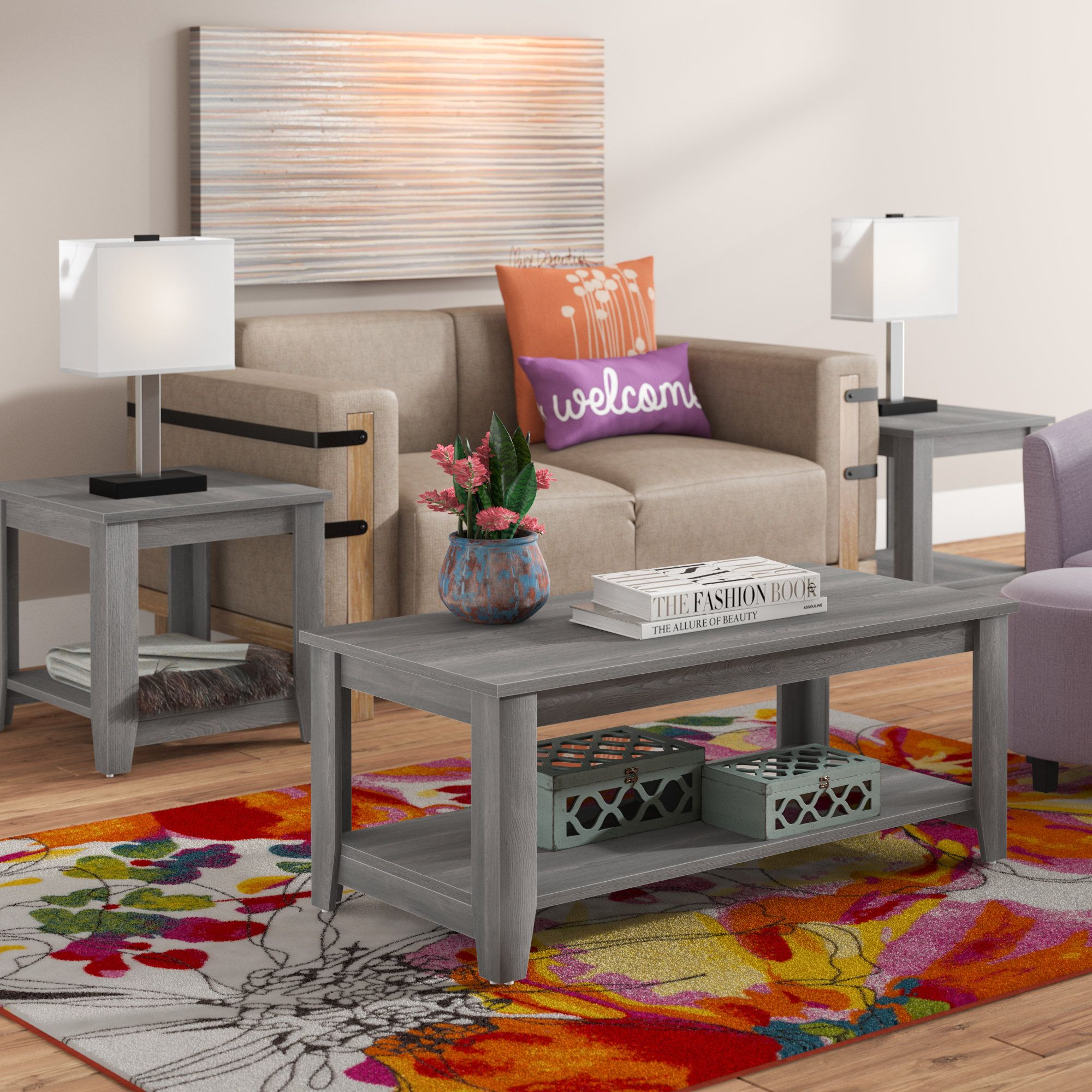 coffee table ideas for small apartments  4 piece coffee