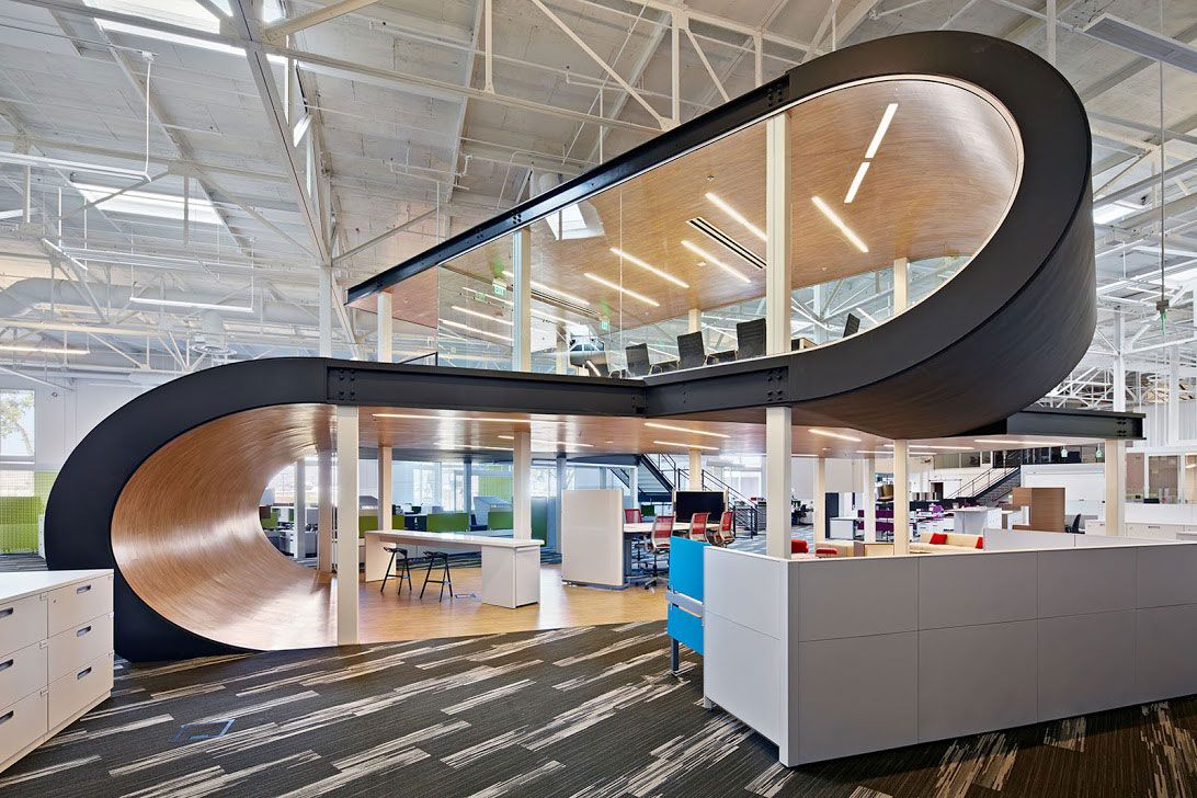 Interior Designers At Work In Office One Workplace Unveils Its Firstever Office Design Fair  Office