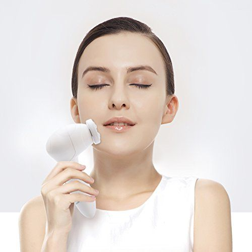 Battery face facial exfoliator
