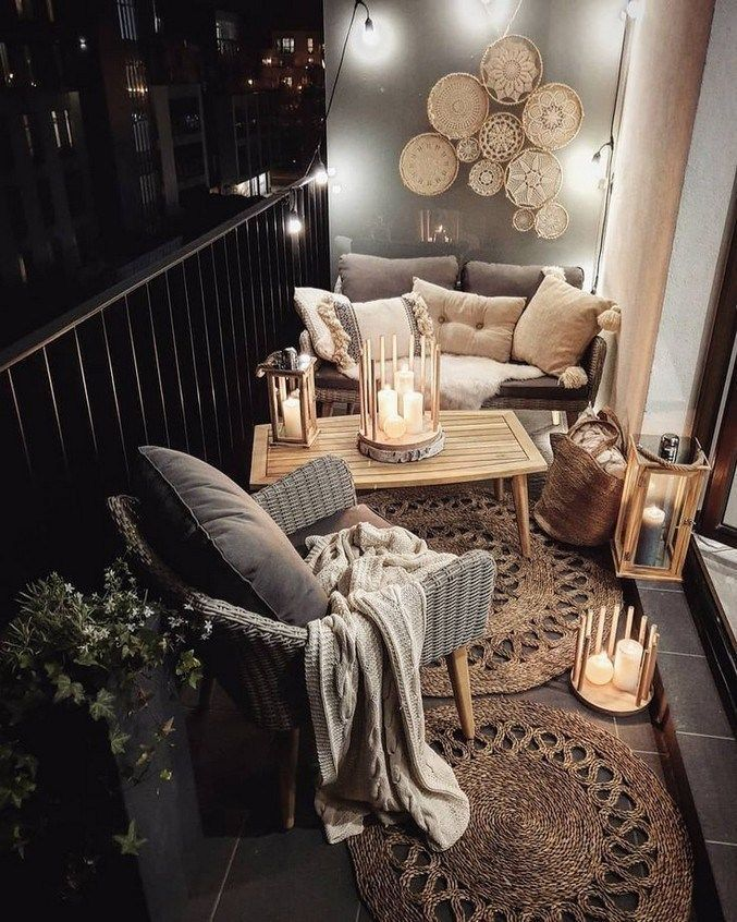 Photo of 50+ fantastic little apartment balcony decor ideas 39