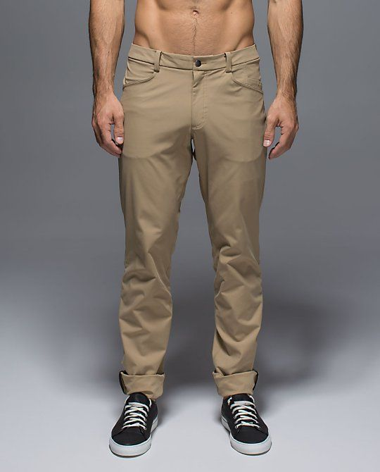 LULULEMON - ABC Pant, Review-Very versatile to wear casual