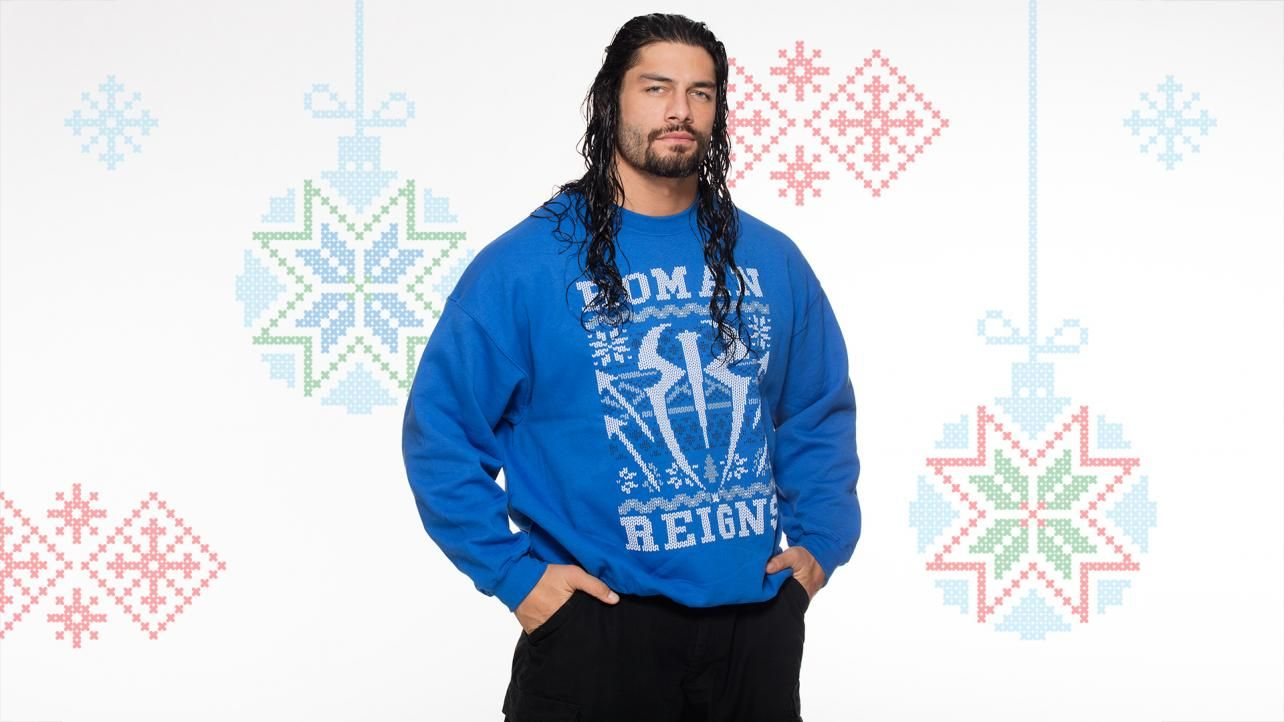 Superstars and Divas wear ugly Christmas sweaters: photos   WWE ...