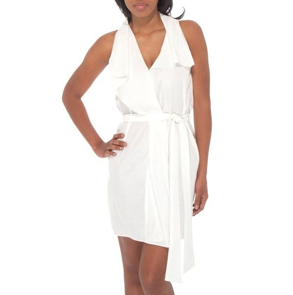 This is one of my favorites on totsy.com: Open Collar Dress with Self Belt