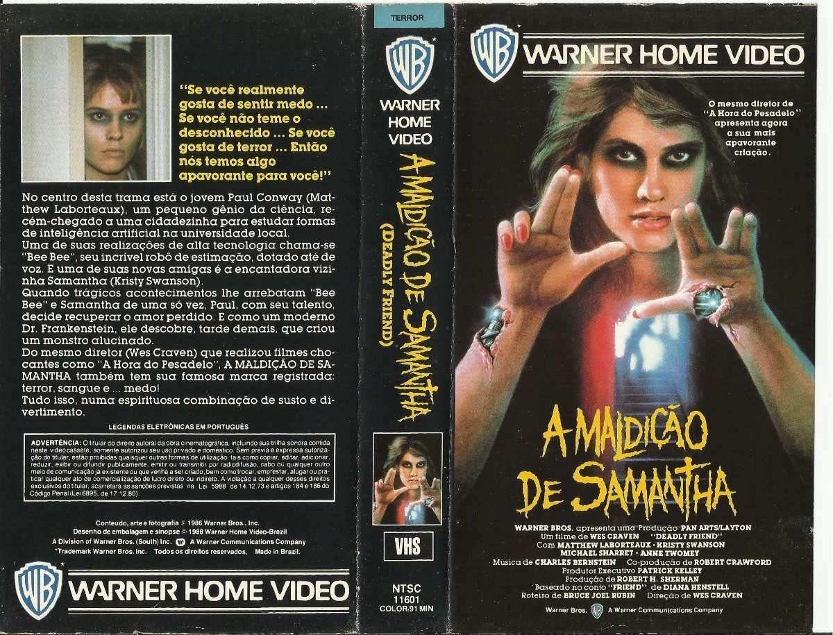 Deadly Friend Aka A Maldicao De Samantha 1986 Dir Wes Craven