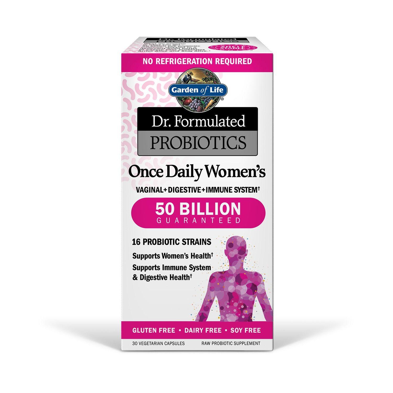 Garden Of Life Dr Formulated Probiotics Once Daily Women S Probio Probiotics Mood Stress Response