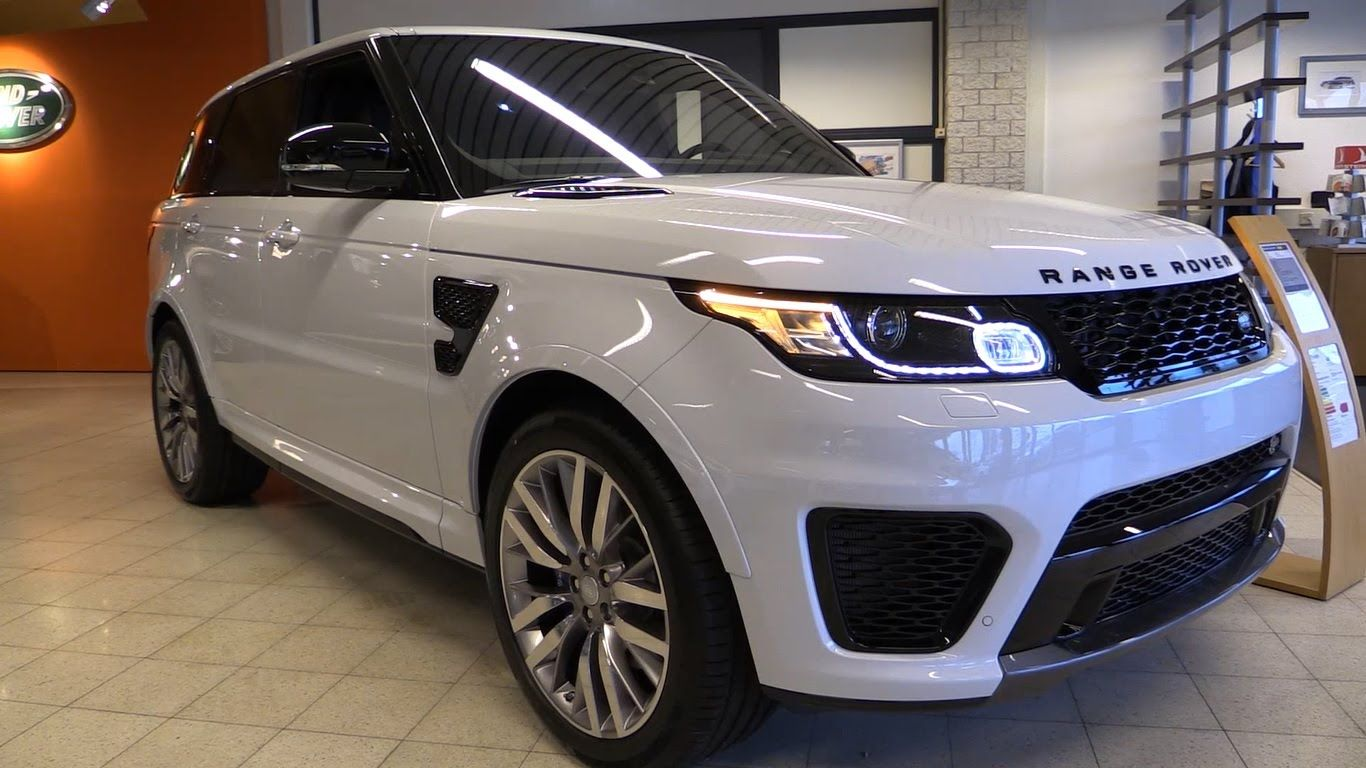 hight resolution of land rover range rover sport svr 2016 start up exhaust in depth review