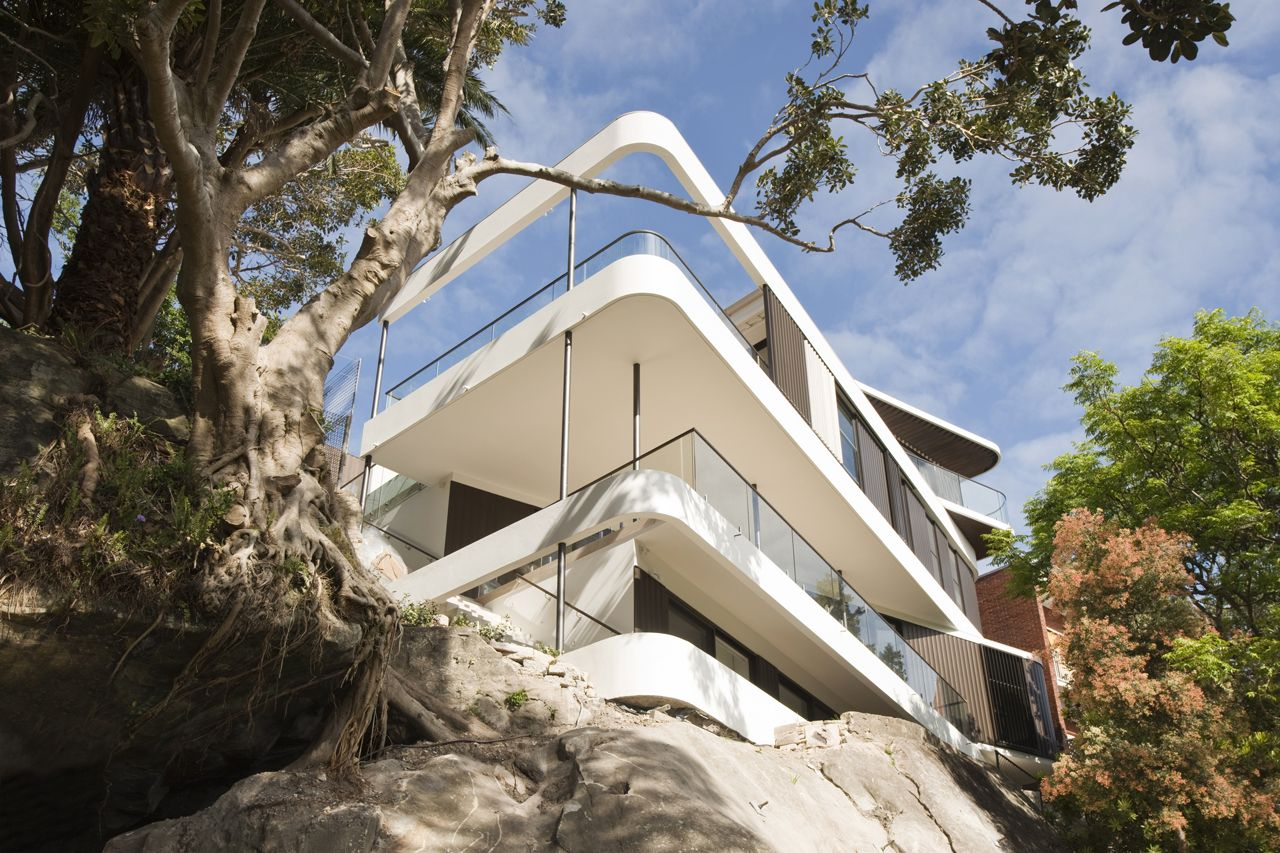 Luigi Rosselli Architects - Clifftop House, Queens Park, New South Wales, Australia