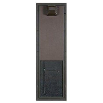 Amazon Com Plexidor Electronic Dog Door With Large Bronze Wall