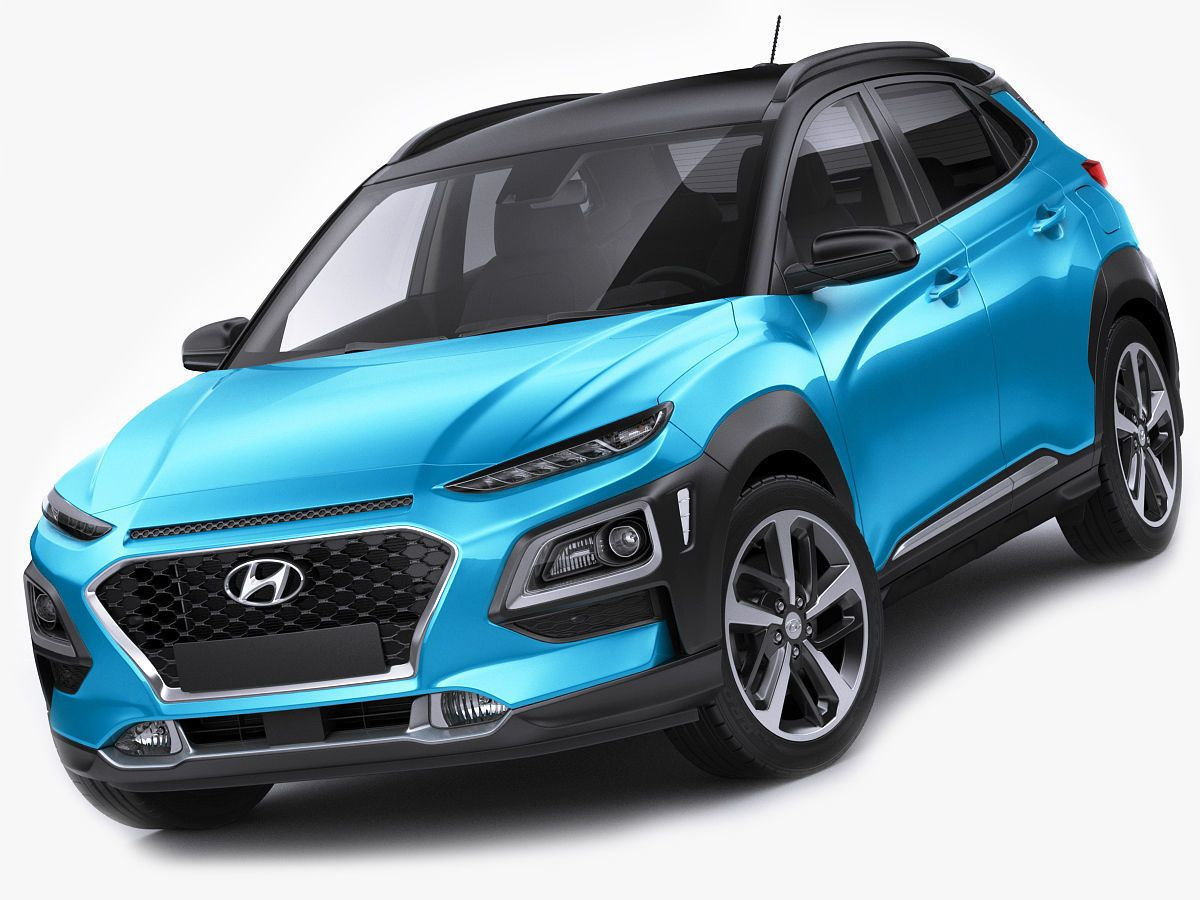 When it comes to luxury automobiles, the luxury suv stands out for its sporty look and durability. Hyundai Kona 2018 3d Model Sporty Suv Hyundai Small Suv