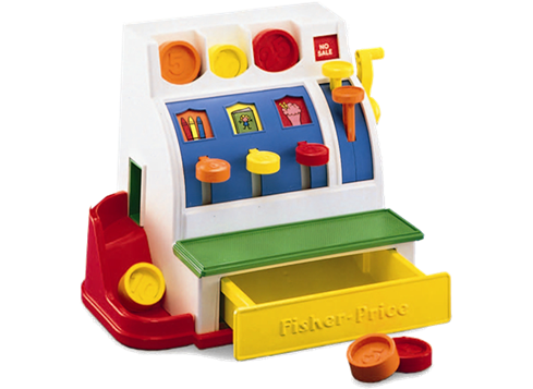 Fisher Price Kasseapparat Fisher Price Legetoj Born