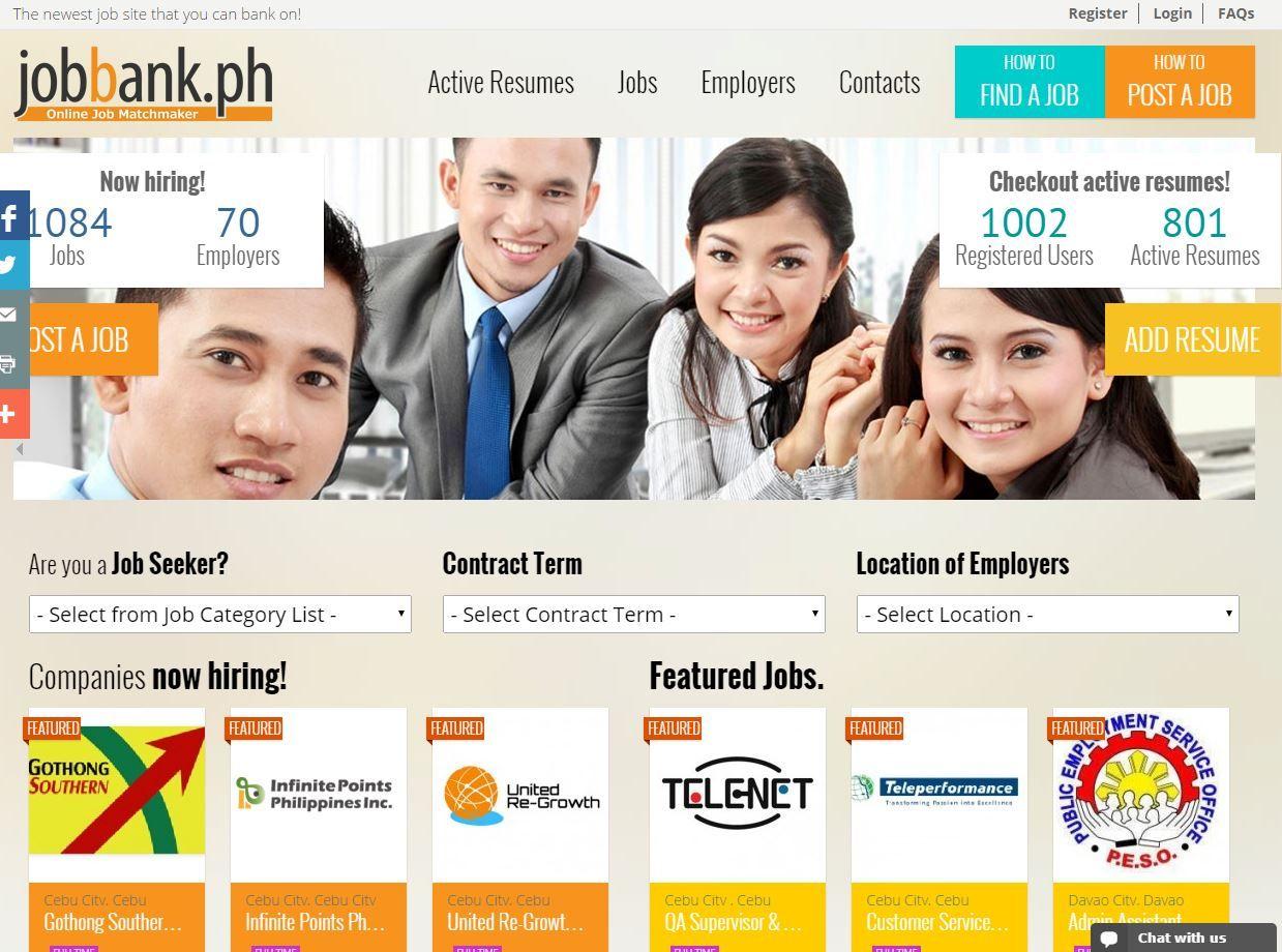 Jobbank Ph Assures Every Jobseeker And Employer That Finding A Job