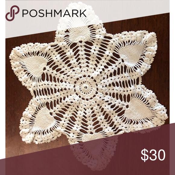1940's Pineapple Crochet Doily
