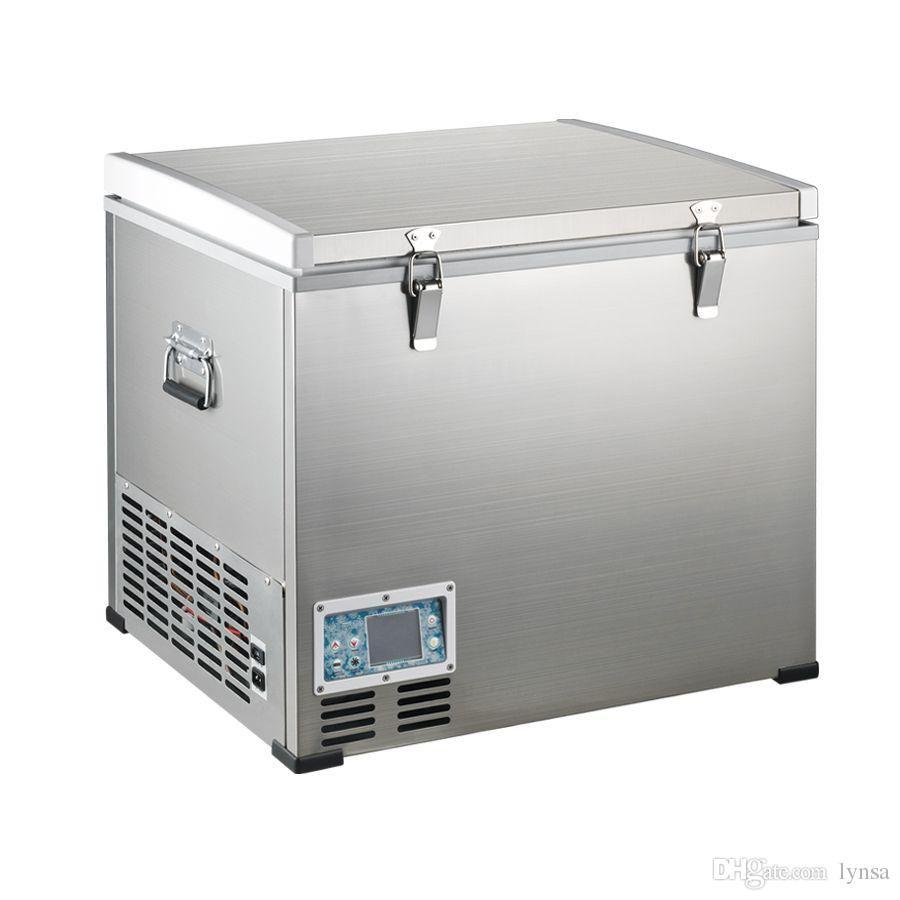 Outdoor Compreesor Refrigerator Deep Freezer Portable Fridge 12v Refrigerator Freezer Single Do Single Door Fridge Portable Fridge Refrigerator Freezer