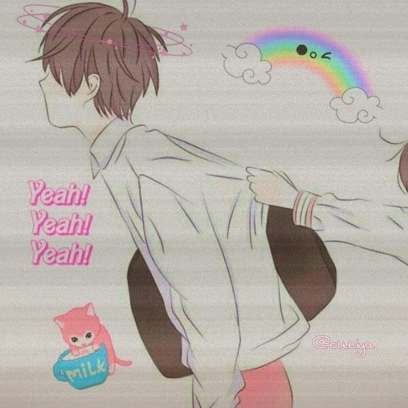 Couple Wallpaper Terpisah Kpop Coupletime Couplecase Coupletrip Ilustrasi Lucu Gadis Anime Sedih Animasi