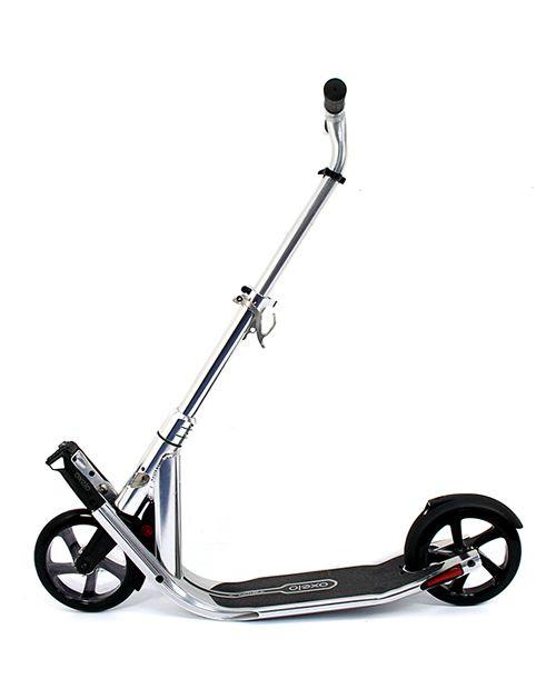 OXELO Town 7 EasyFold Kick Scooter - Chrome | www.unikcycle.com
