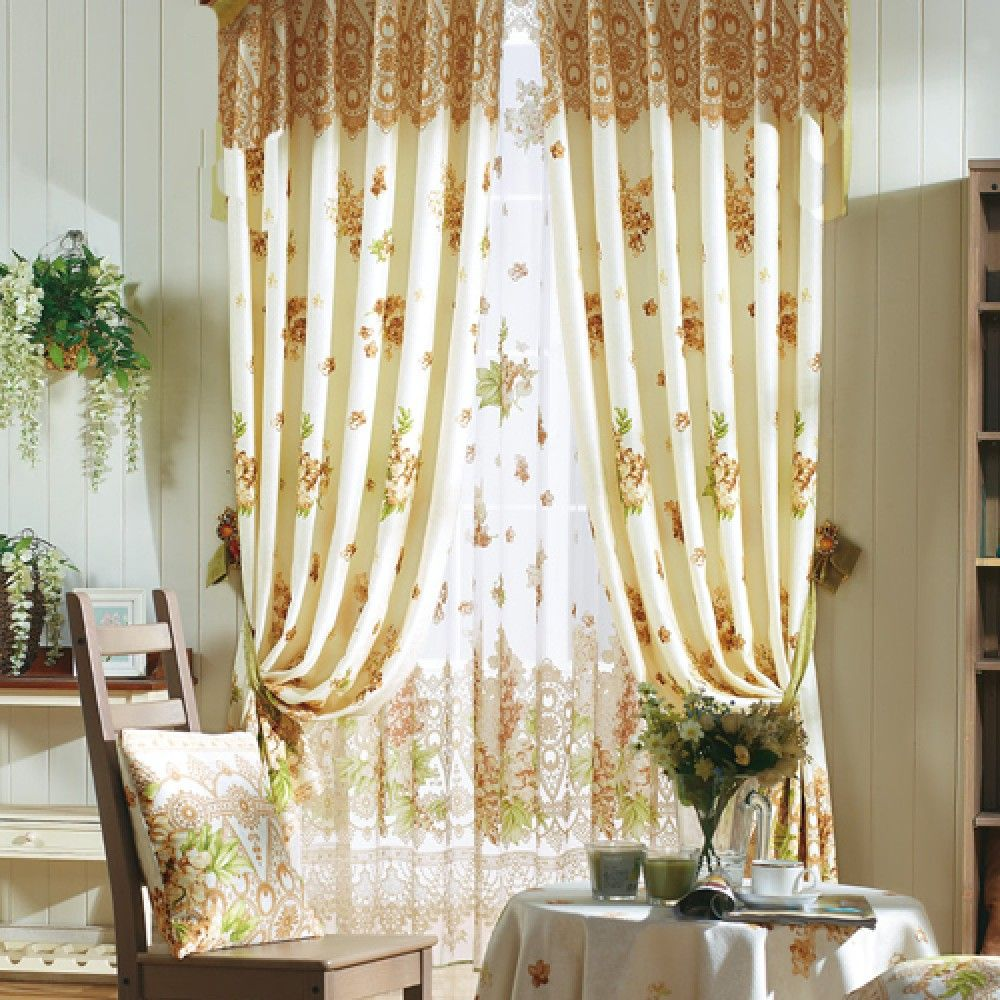 Floral Country Curtains