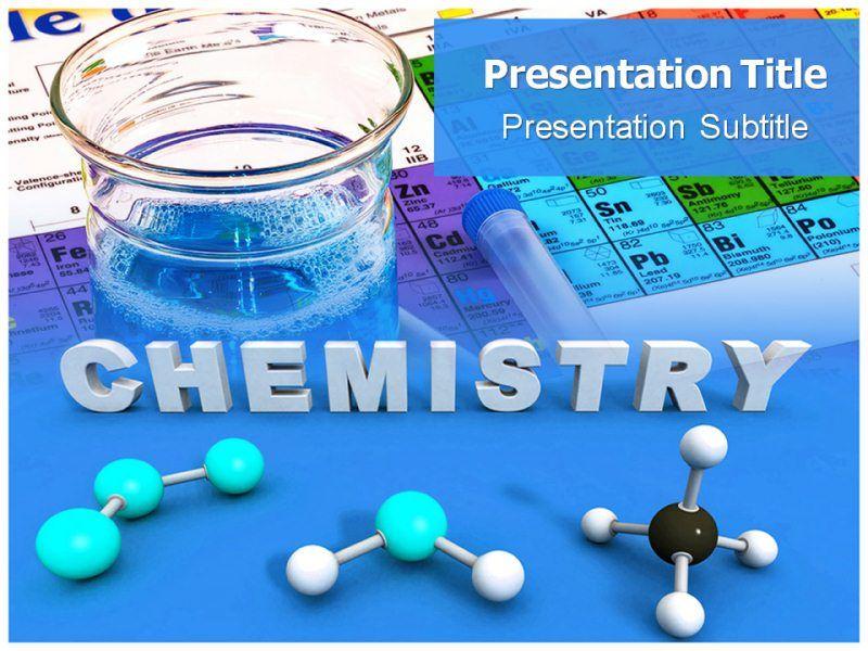 Chemistry Powerpoint Template Powerpoint Presentation Templates Chemistry Free Powerpoint Template Free Powerpoint Presentation Design Powerpoint Presentation