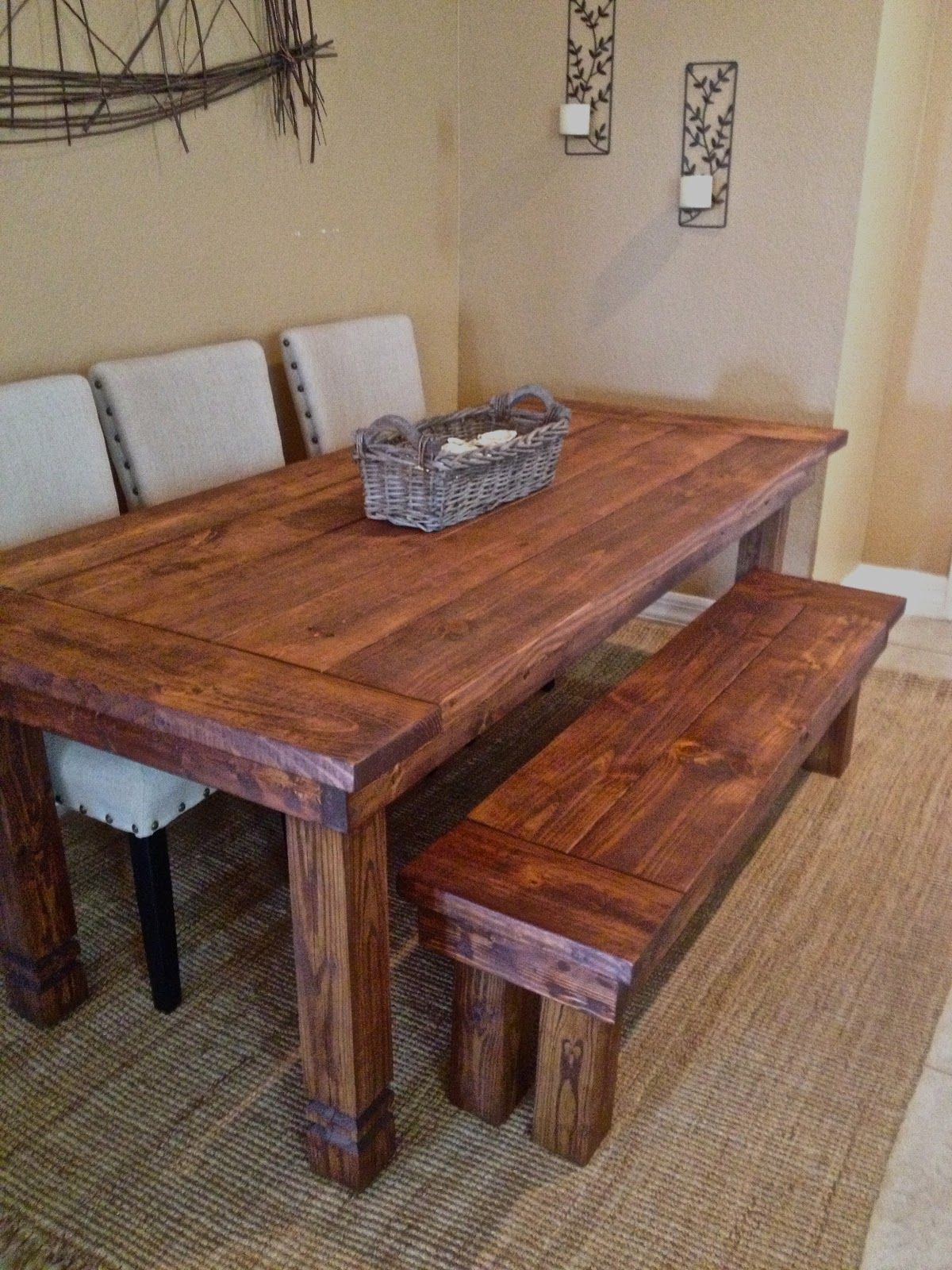 Farmhouse Table And Bench Could Build Your Dream Orlando Fl