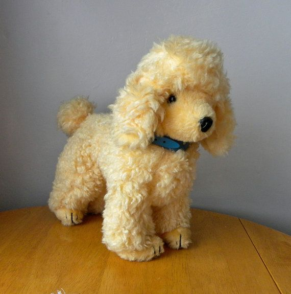 Real Soft Toys Poodle Dog Poodle Dogs French Poodles