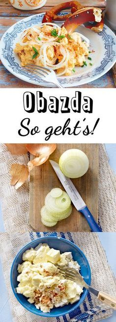 Obazda - das einfache Rezept zum Selbermachen #fingerfoodappetizers
