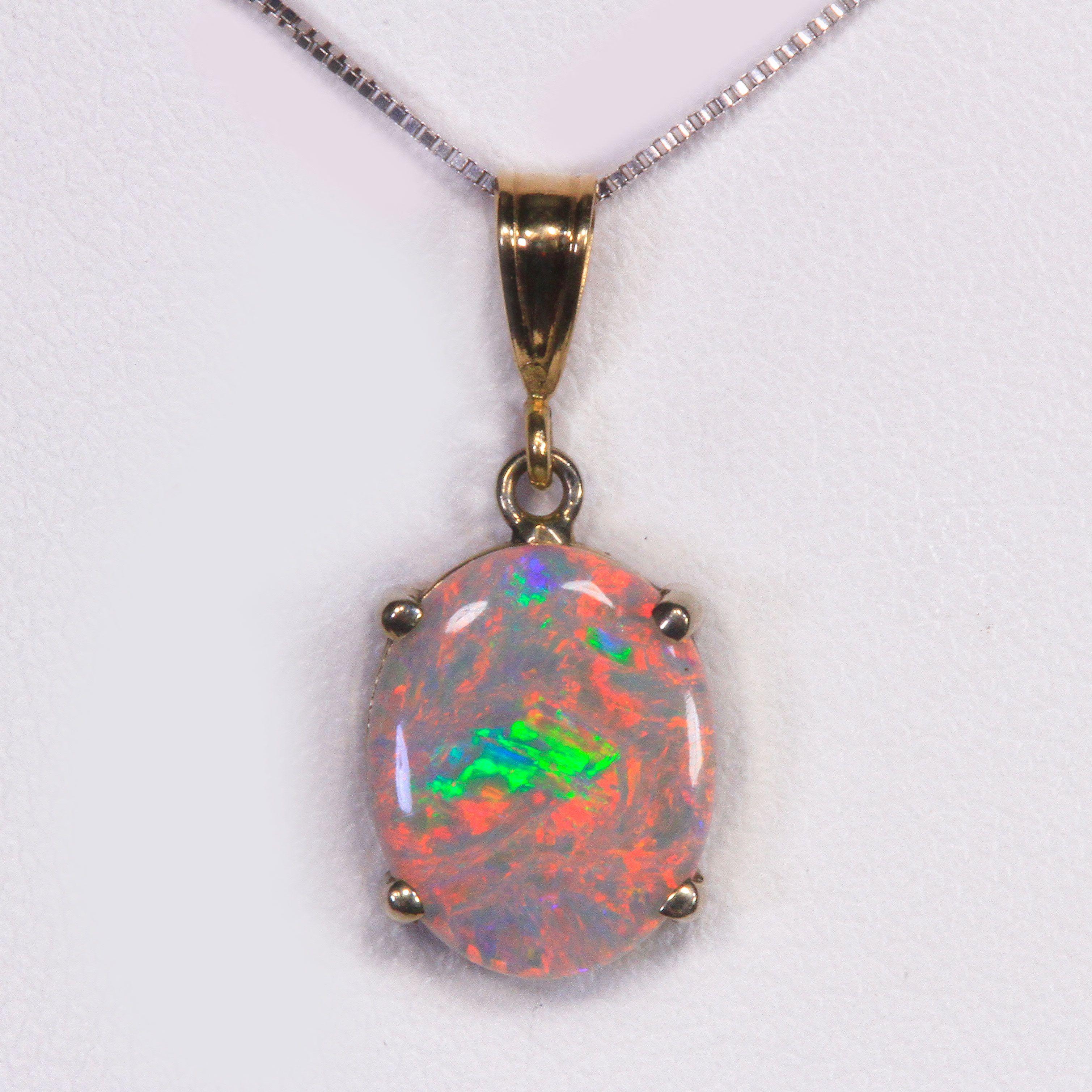 Australian opal pendant 215 carat pendants pinterest opals australian opal pendant 215 carat aloadofball Image collections