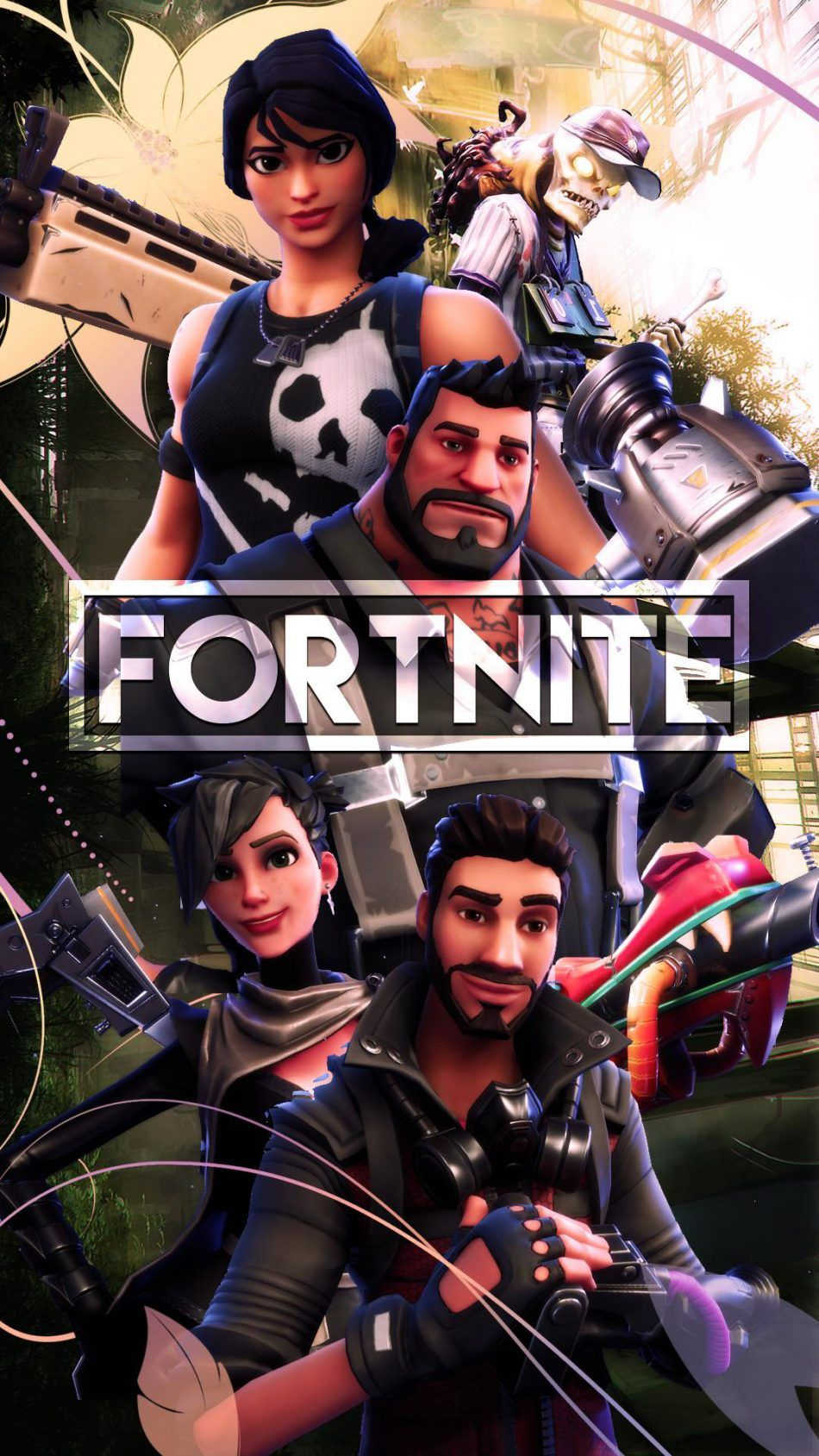 Team Squad Fortnite Battle Royale Hd Mobile Wallpaper Android Wallpaper Gaming Wallpapers Mobile Wallpaper