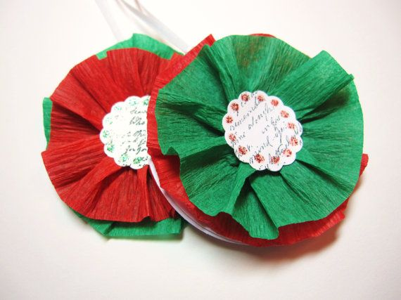 Holiday Gift tags for christmas gifts by AppleBlossomDelights, $5.00