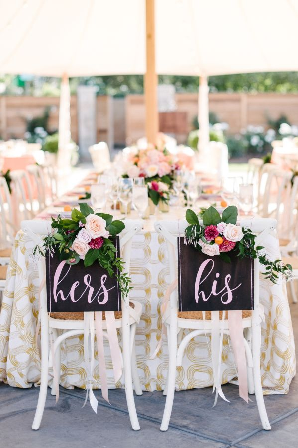 A Colorful Sonoma Wedding With An Ombre Petal Lined Aisle Wedding