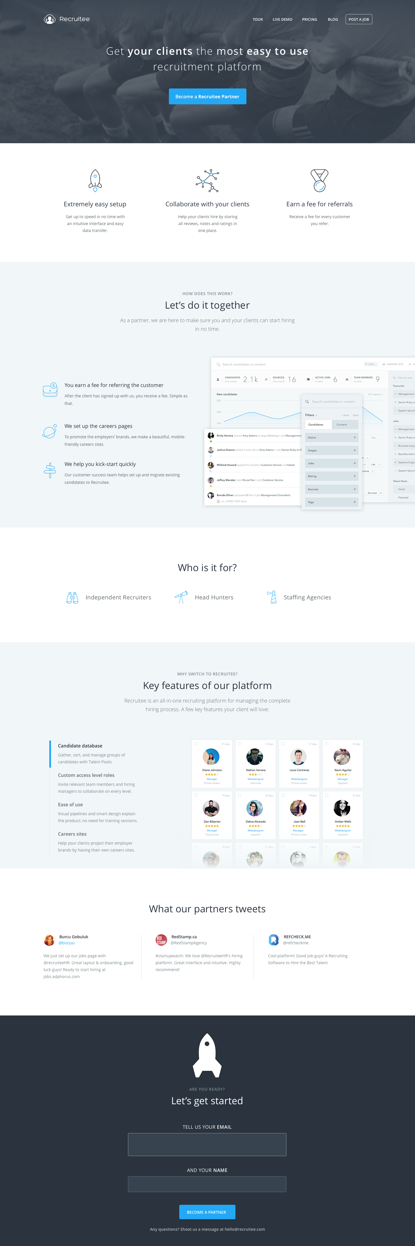 1 1 Partners Page Png By Marcin Moszyk Web Design Inspiration Web Design Partners