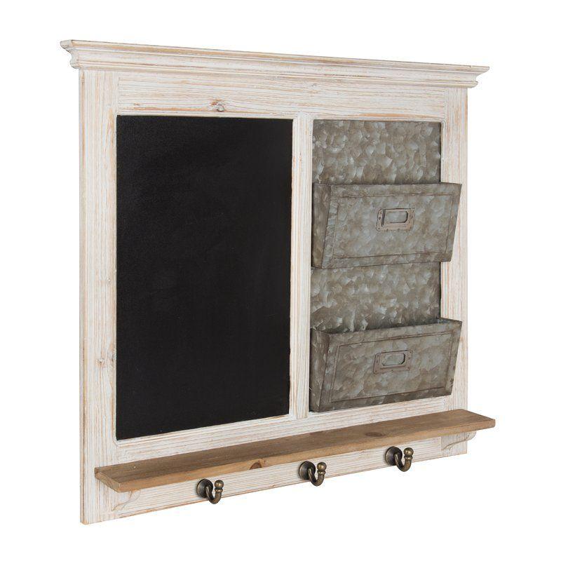 Framed Chalkboard Wall Kitchen Command Centers