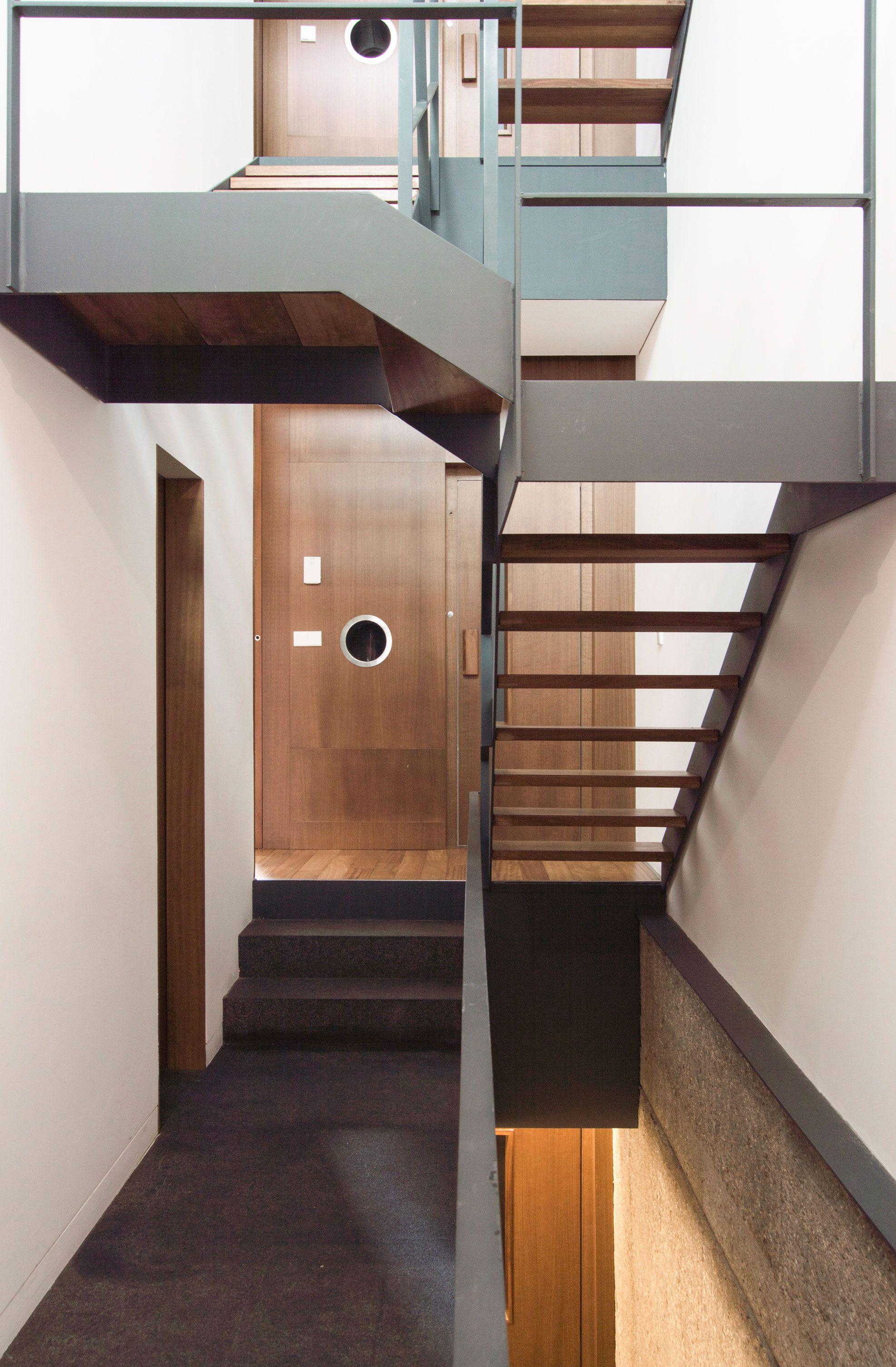 Vivienda en BVentas - Alberich-Rodriguez Arquitectos  MadridStaircases IndustrialStairsChangeCenter