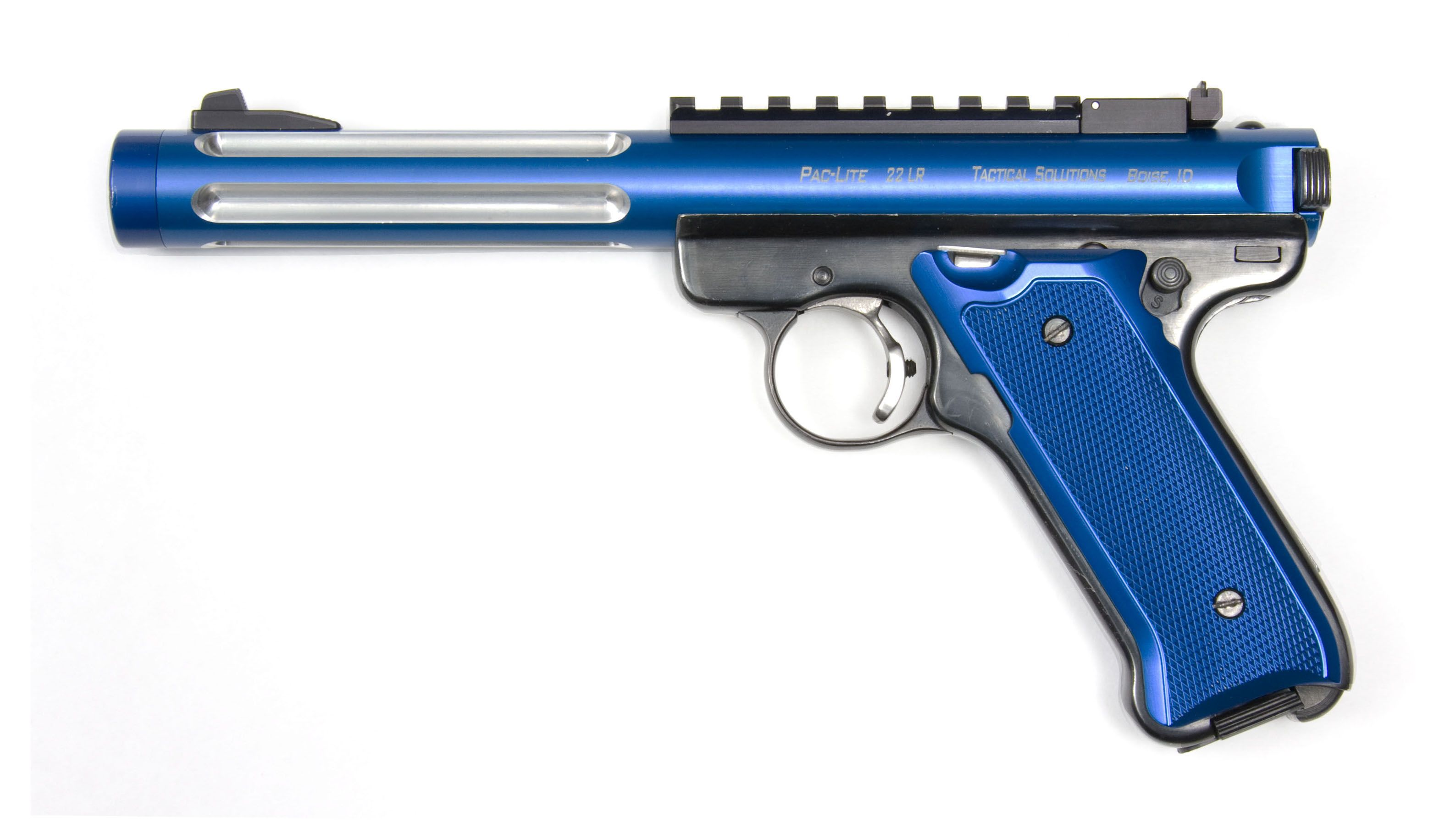Ruger Mark Ii With Theaded Pac Lite