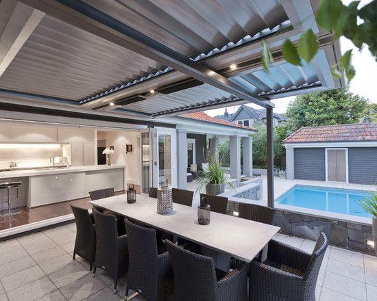 Vergola Roof System House Pinterest Arquitectura y Decoración