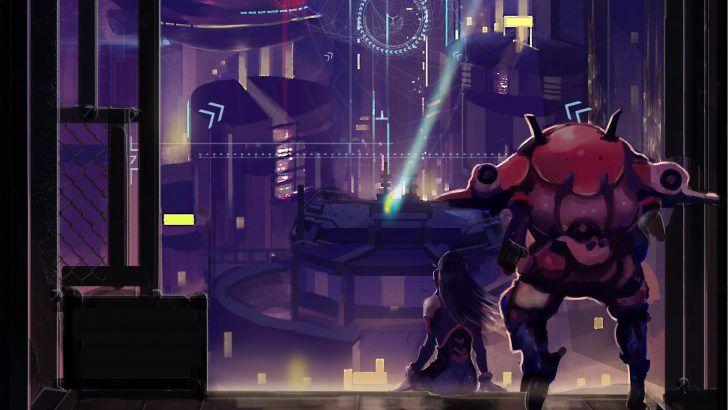 Download D. Va Wallpaper Overwatch Game Art UHD 3840x2400