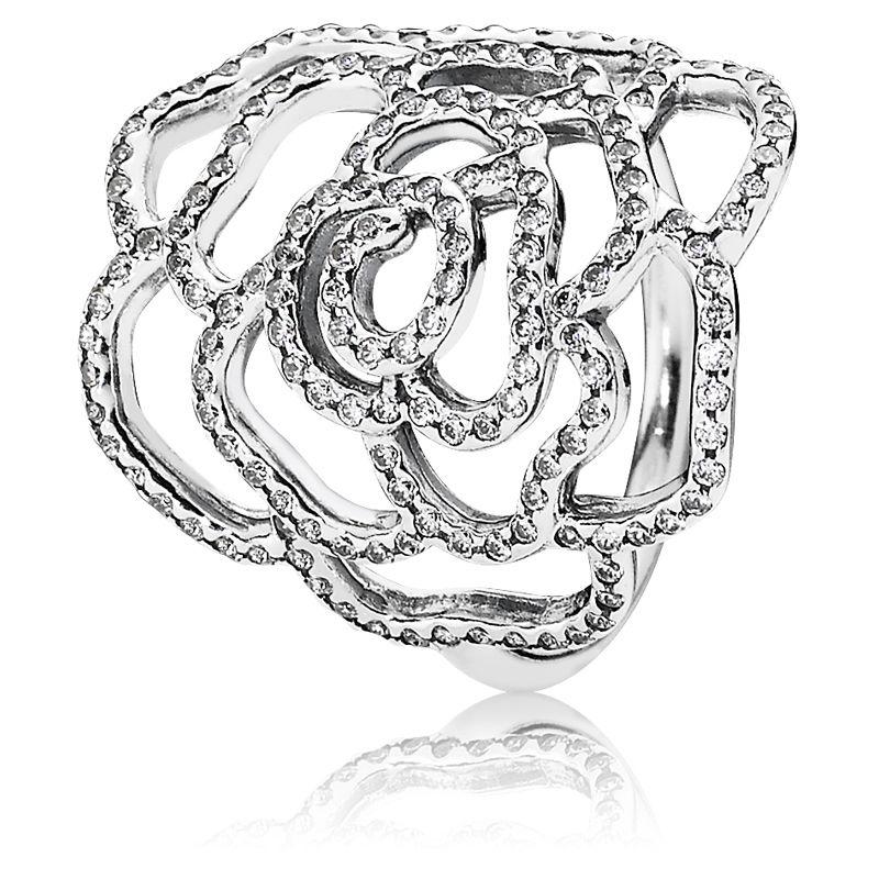Ring silber pandora