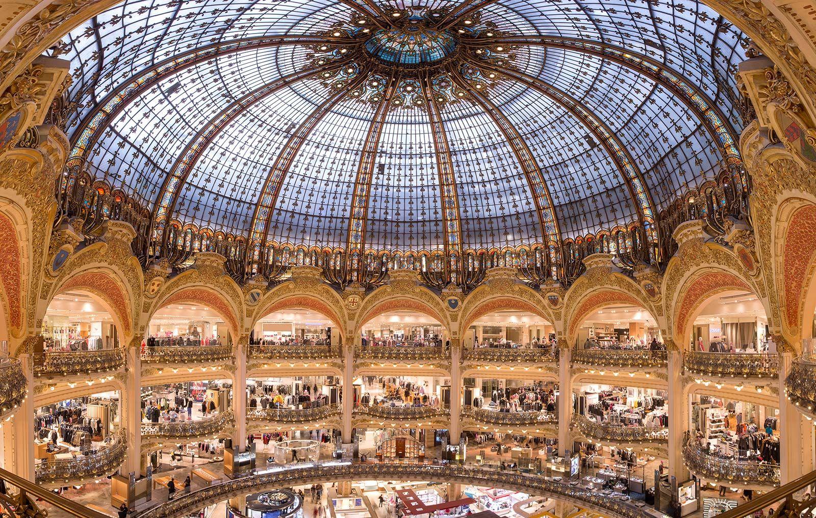 Retail Therapy Wonders And More At The Galeries Lafayette Compras Em Paris Loja De Departamento Turismo