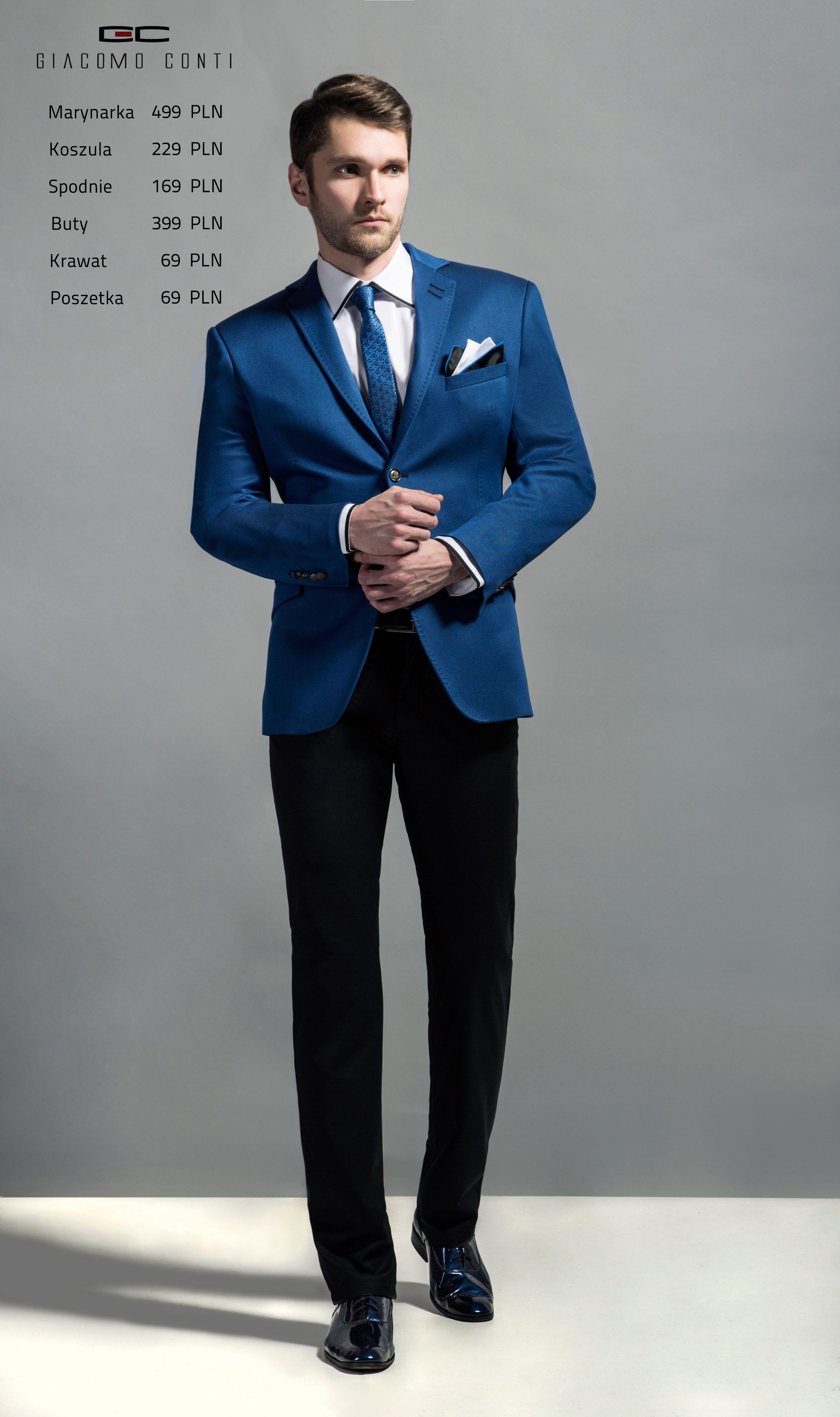 Stylizacja Giacomo Conti Marynarka Antonio 15 60 Wm Koszula Martino 14 09 07 Spodnie Augusto 01 S Buty 6900 Fashion Style Formal