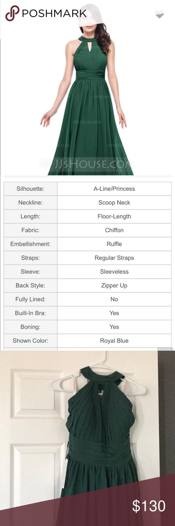 Formal Green Dress 👗 NWT Formal Green halter dress