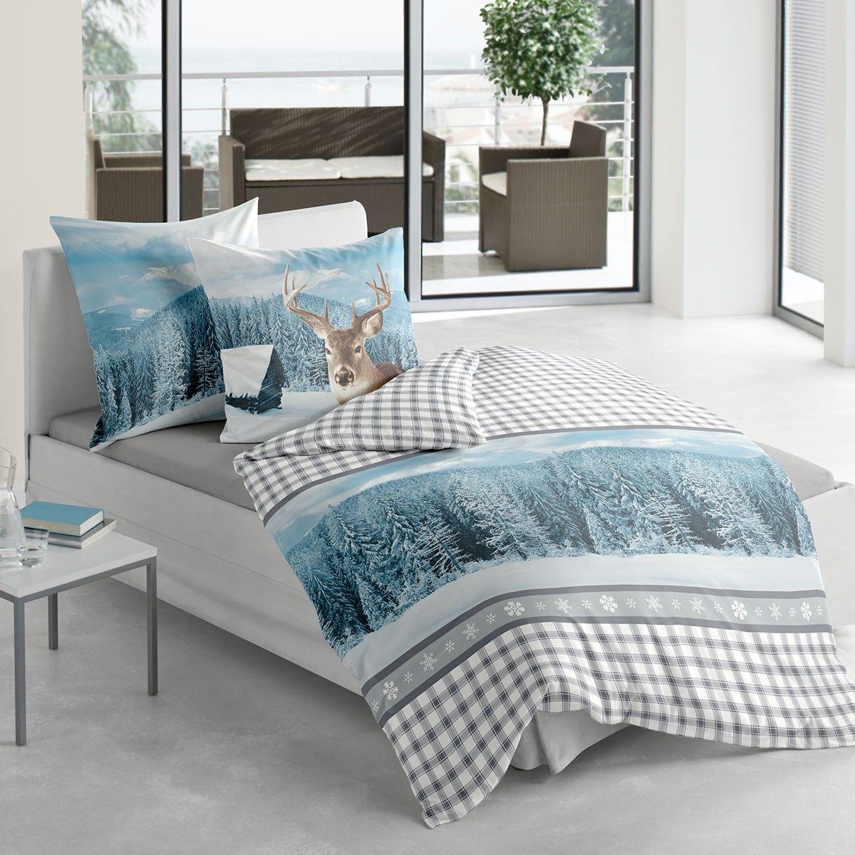 biber bettwäsche hirsch blau | biber bettwäsche, biber und bettwaesche, Schlafzimmer entwurf