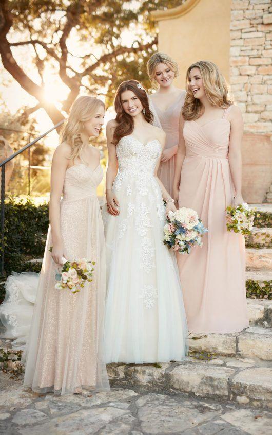 Essense Of Australia Spring 2016 Bridal Collection Belle The Magazine Bridesmaid Sequin Bridesmaid Bride