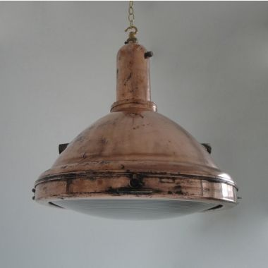 GEC Copper search light. Circa 1930  Ceiling Lights  Skinflint Design & GEC Copper search light. Circa 1930 : Ceiling Lights : Skinflint ...