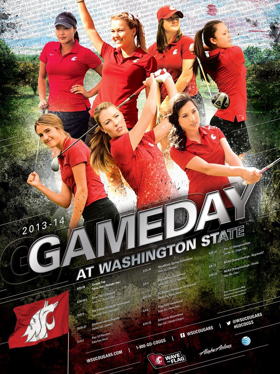 WSU Athletics Posters - Washington State University ...